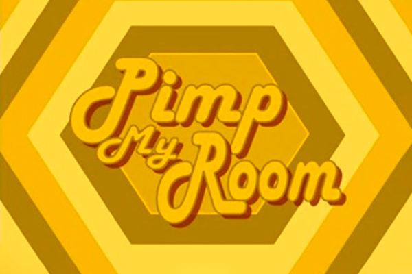 """Logo programu """"Pimp My Room"""""""