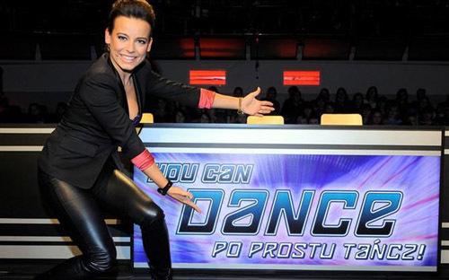 Anna Mucha w roli jurora You Can Dance 5 | Foto: Kapif