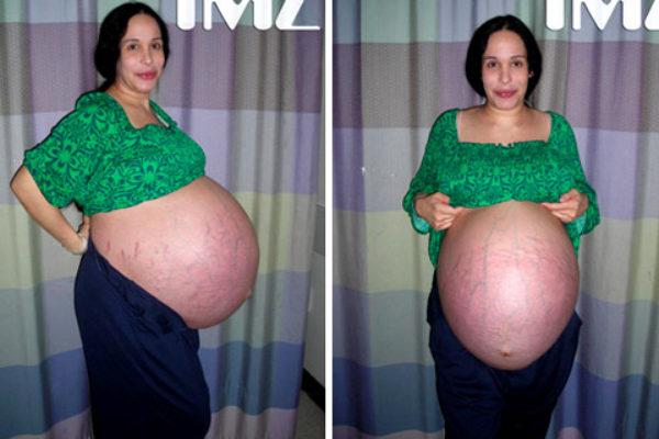 Nadya Suleman w ciąży | Foto: Google