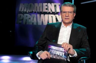Zygmunt Chajzer jako prowadzący Moment Prawdy   Foto: Polsat
