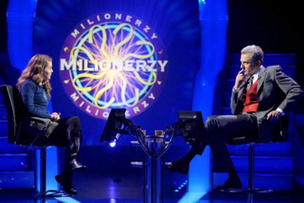 Hubert Urbański w programie Milionerzy | Foto: TVN