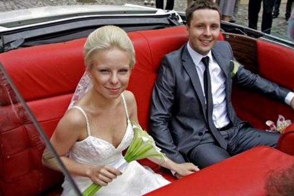 Alicja Janosz ze swoim mężem   Foto: Tomasz Griessgraber