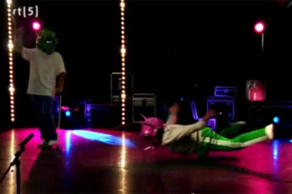 Uczestnik You Can Dance zatańczył na... penisie! | Foto: You Tube