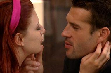 Brendon Villegas i Rachel Reilly w programie Big Brother 12 | fot. CBS