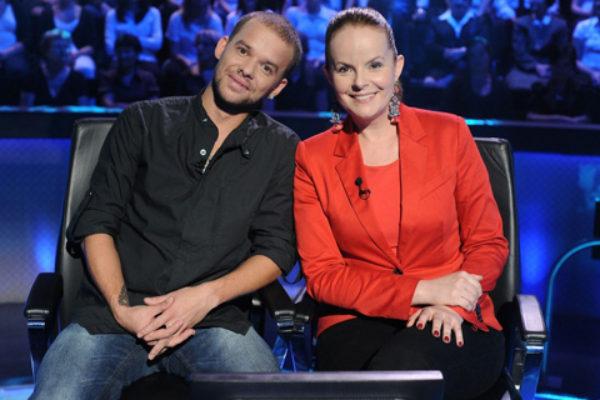 Michał Piróg i Karolina Korwin-Piotrowska w Milionerach | Foto: TVN