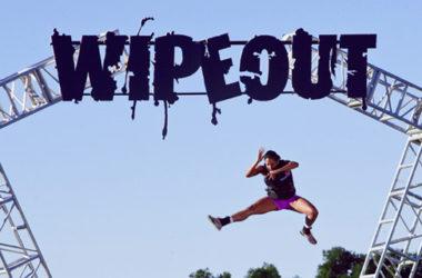 Uczestnik programu Wipeout | Foto: TVN