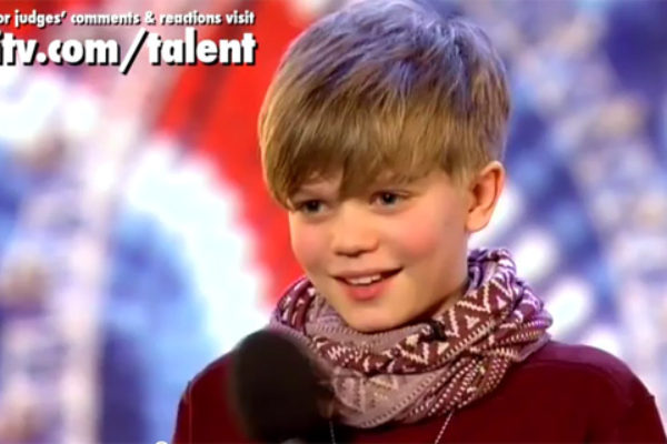 Ronan Parke w programie Britain's Got Talent   fot. ITV