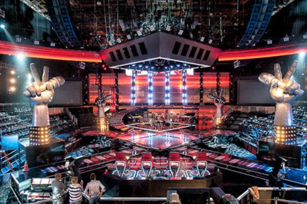 Sceneria amerykańskiej wersji programu The Voice | fot. NBC