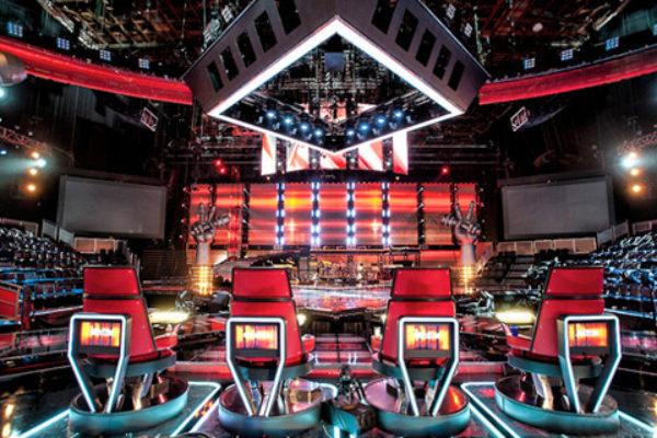 Sceneria amerykańskiej wersji programu The Voice   fot. NBC