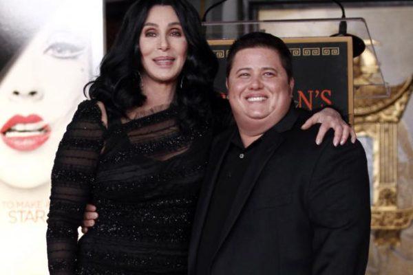 CHer i jej syn Chaz Bono   fot. AP