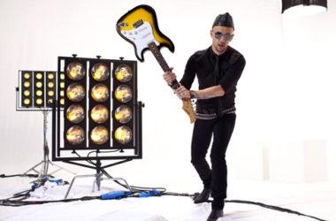 Adam Darski w programie The Voice   fot. TVP