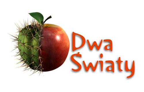 Logo programu Dwa Światy