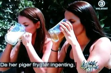 Uczestnicy Fear Factor mieli za zadanie wypić całą szklankę moczu lub spermy osła | fot. TV3