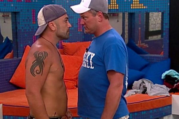Willie Hantz wpada w furię w Big Brotherze   fot. CBS