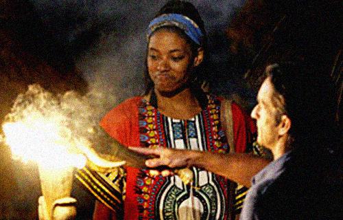 Crystal Cox odpada z programu Survivor | fot. CBS