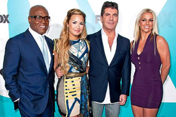 Jurorzy drugiej edycji amerykańskiego The X Factor   fot. FOX