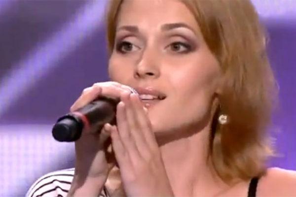 Aida Nikołajczuk w programie The X Factor   fot. YouTube