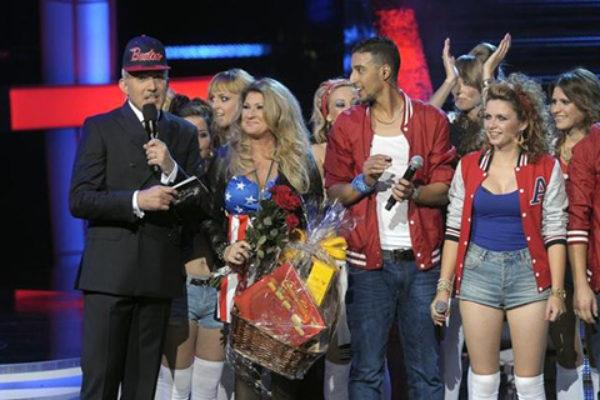 Drużyna Beaty Kozidrak w programie Bitwa na głosy   fot. TVP2