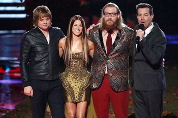 Finaliści trzeciej edycji The Voice | fot. NBC