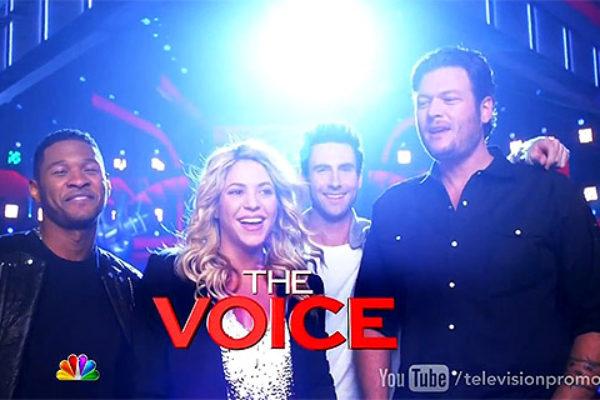 Jury czwartej edycji amerykańskiego The Voice | fot. NBC