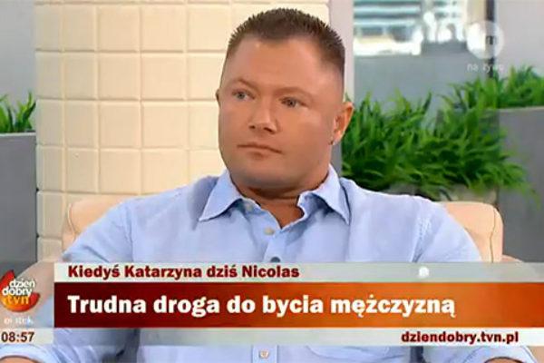 Nickolas Prusiński | fot. TVN