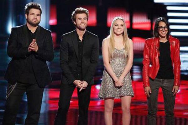 Finaliści czwartej edycji amerykańskiego The Voice | fot. NBC
