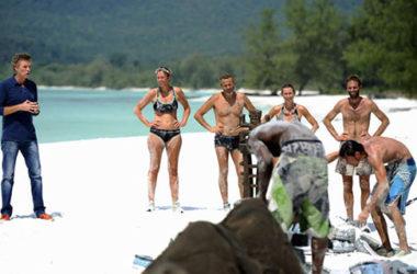 Na planie francuskiej edycji Koh-Lanta   fot. TF1