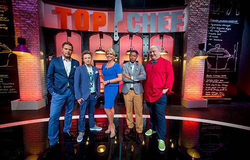 Prowadzący i jury programu Top Chef   fot. Polsat
