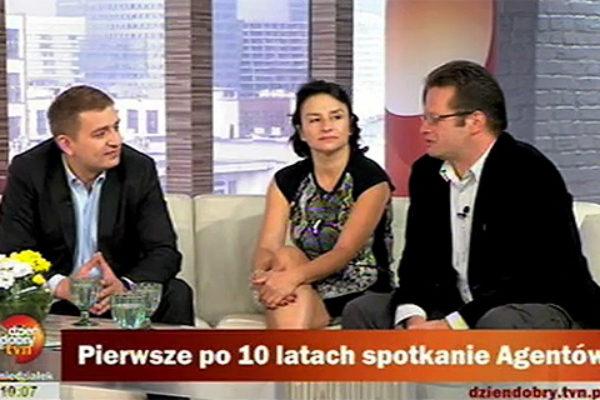 Marcin Meller, Bartosz Arłukowicz i Małgorzata Goździkowska | fot. TVN