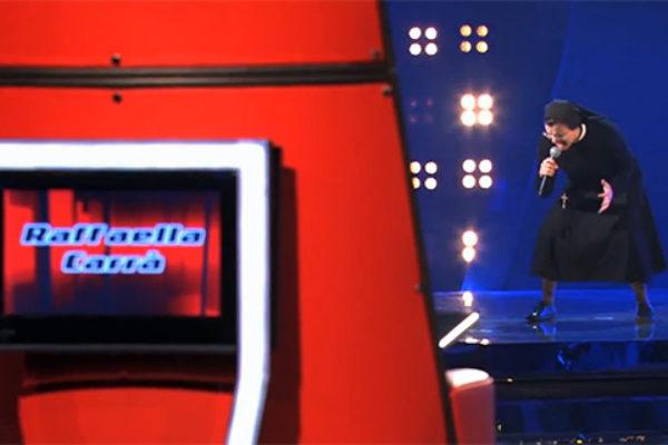 Zakonnica we włoskiej edycji The Voice | fot. YouTube
