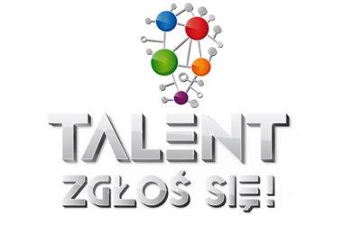 """Logo programu """"Talent zgłoś się!"""""""