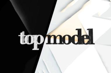 """Logo programu """"Top Model"""""""