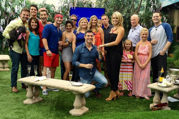 """Jeff Schroeder i Jordan Lloyd zaręczyli się na planie """"Big Brothera""""   fot. CBS"""