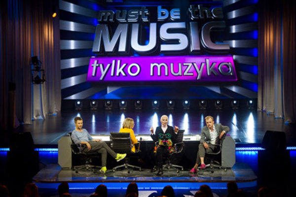 "Jury programu ""Tylko Muzyka""   fot. Polsat"