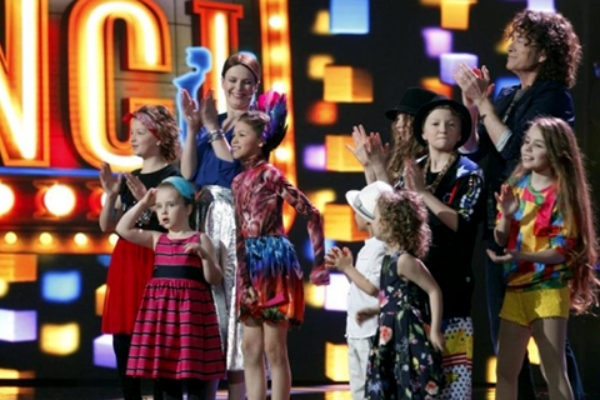 "Finaliści programu ""Mali Giganci""   fot. TVN"