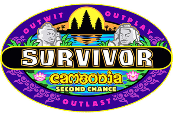 "Logo programu ""Survivor 31: Cambodia, Second Chance"""
