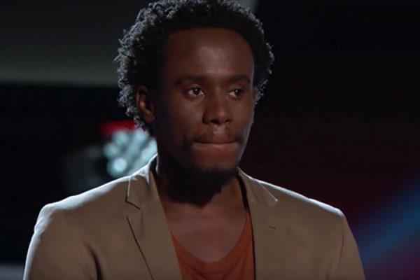 "Athony Riley w ""The Voice"" | fot. NBC"