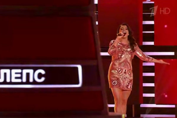 "Renata Wolkiewicz w rosyjskim ""The Voice 4"" | fot. YouTube"