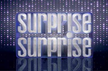 "Logo programu ""Surprise Surprise"""