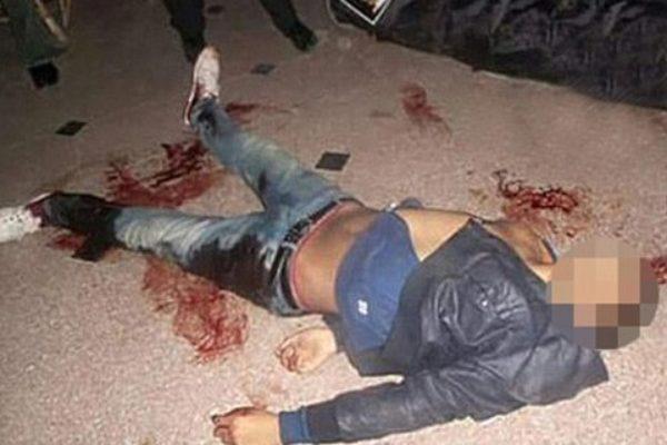 Jeden z zamachowców został zastrzelony | fot. IraqiSuryani