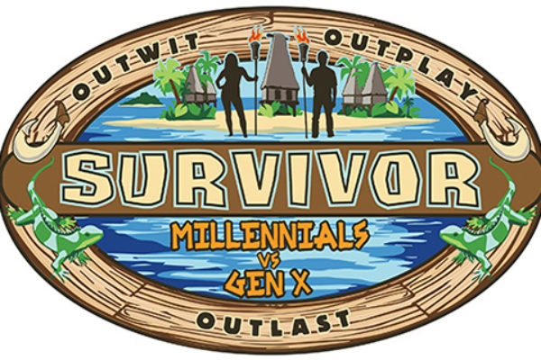 "Logo ""Survivor 33: Millennials vs Gen X"""