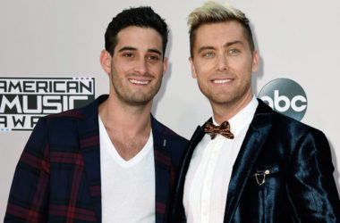 Lance Bass i jego mąż Michael Turchin | fot. ABC