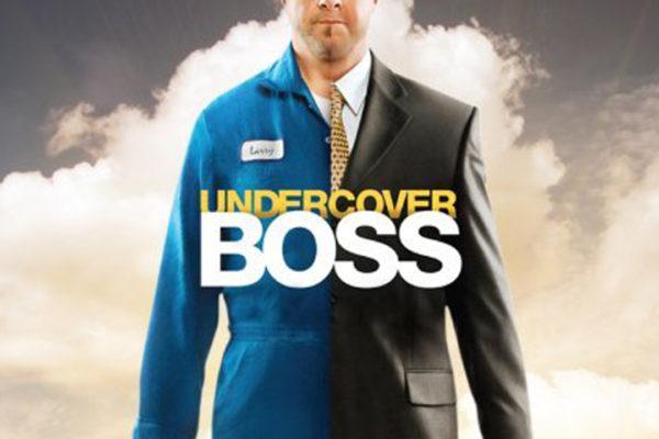 "Logo programu ""Undercover Boss"""