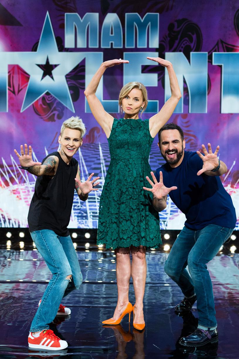 """Jury programu """"Mam Talent!""""   fot. TVN"""