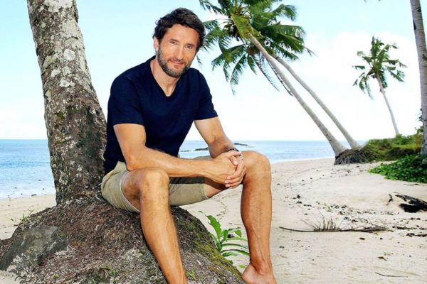 "Jonathan LaPaglia na planie australijskiego ""Survivora"" | fot. Channel Ten"