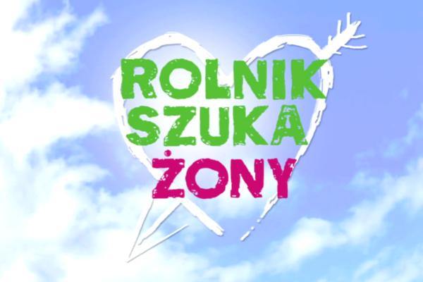 """Logo programu """"Rolnik szuka żony"""""""