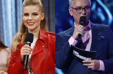 "Artur Orzech i Marta Zalewska - prowadzący program ""Hit, Hit, Hurra!"" | fot. TVP"