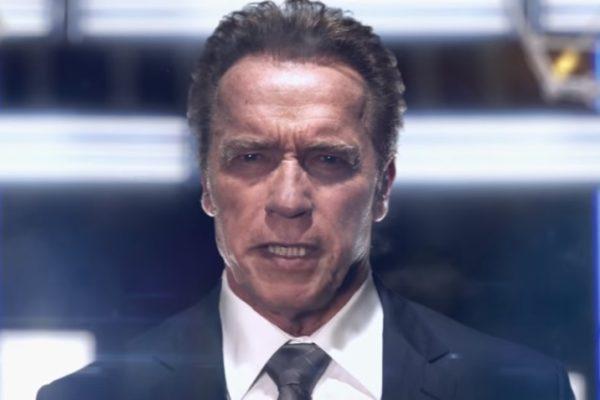"Arnold Schwarzenegger w programie ""The New Celebrity Apprentice""   fot. NBC"