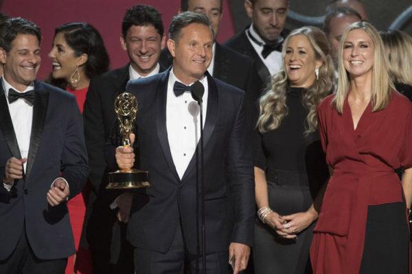 Mark Burnett na uroczystości rozdania nagród Emmy | fot. ABC