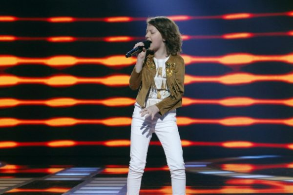 "Alicja Rega w programie ""Mali Giganci"" | fot. TVN"